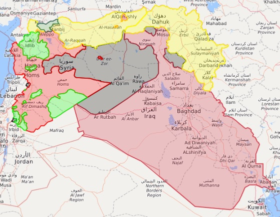 isis july 2017 map